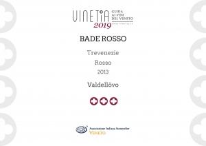 Diploma AIS Veneto vino rosso Valdellovo
