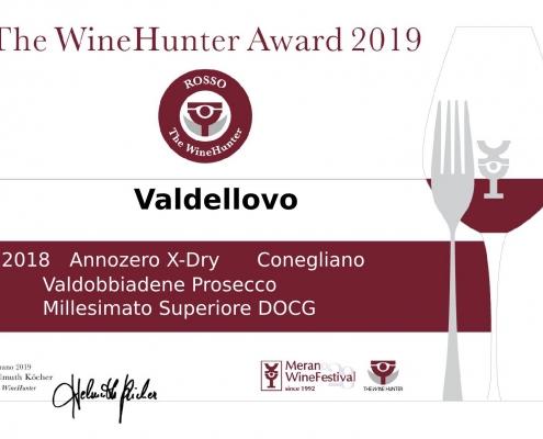 Certificate_The Wine Hunter Award 2019_prosecco_Annozero_xdry_docg